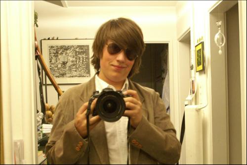 Ich mit RayBan-Brille