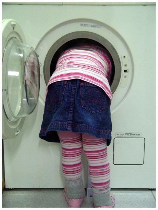 ...ich muß eben noch die Wäsche machen ...
