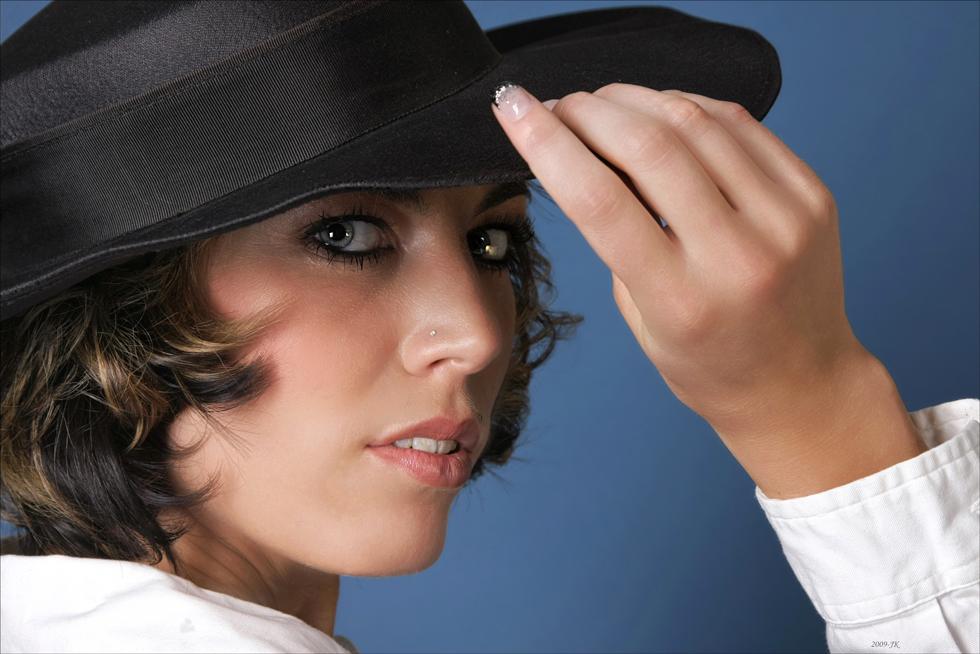 Ich nehme meinen Hut