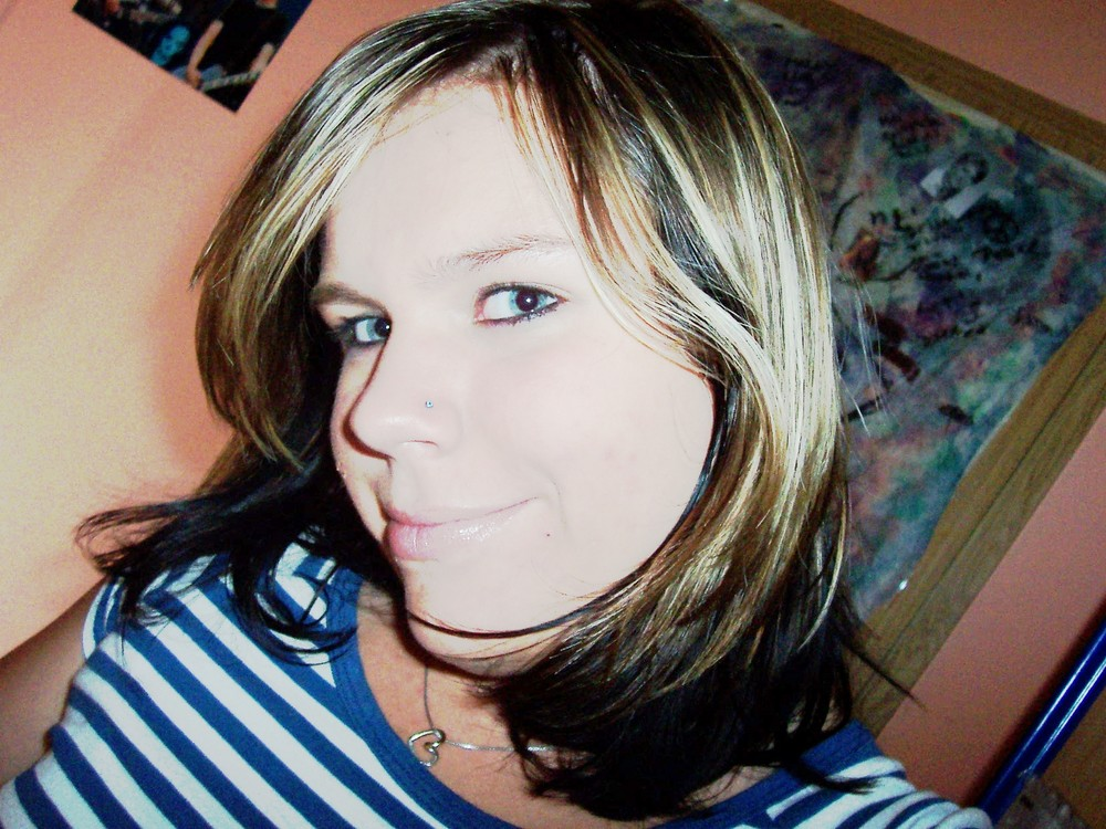 ich - noch blond ;D