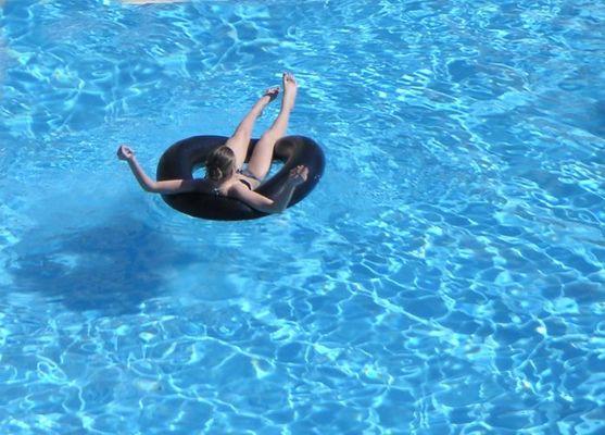 Ich schwimm' hier nur so 'rum...