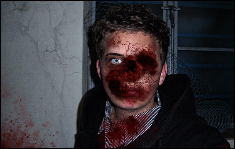 Ich seh' aus wie tot und dafür brauch ich keine Sido-Maske.