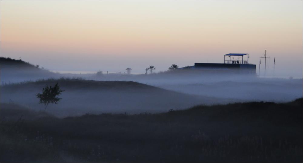Ich seh das Meer vor lauter Nebel nicht...