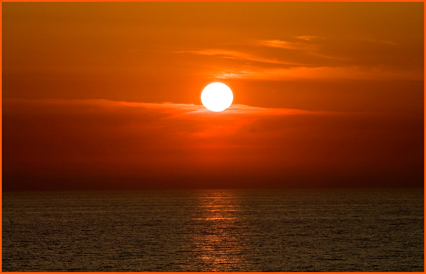 Ich sehe die Sonne . . .