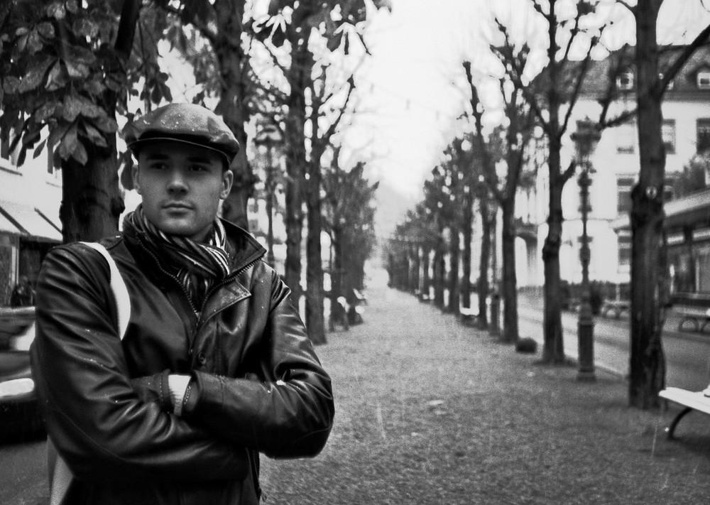 Ich selbst in Baden Baden 2008