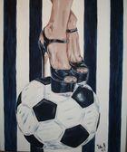 Ich stehe auf Fußball / meine Fußballschuhe