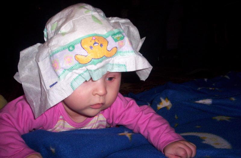 Ich trage immer nur Designer Hüte! :-)