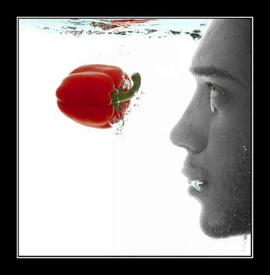 Ich und die Paprika