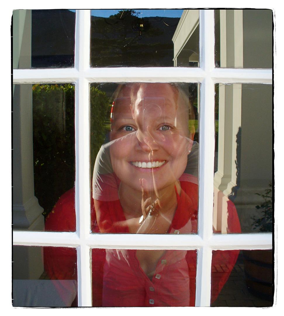 Ich und Du: Begegnung am Fenster
