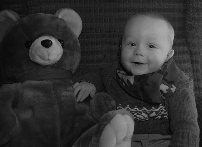 Ich und mein Teddybär