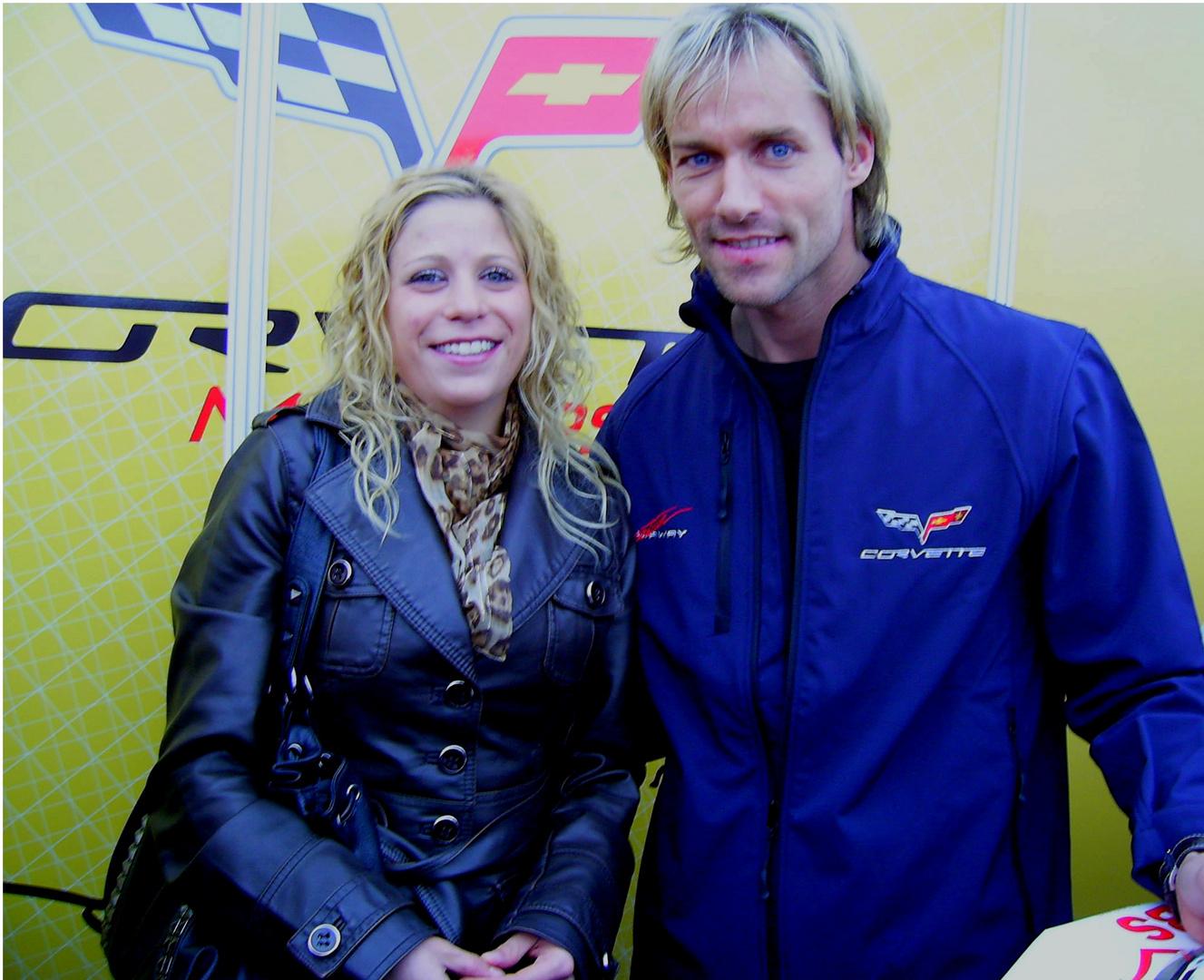 Ich und Sven Hannawald