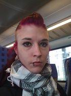 ich unterwegs im Zug