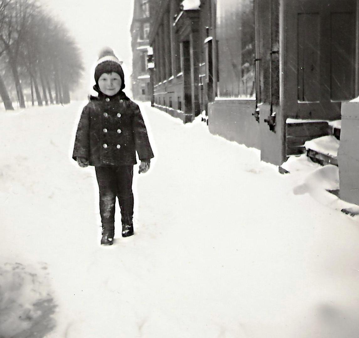 Ich - vermutlich Winter 1969/70