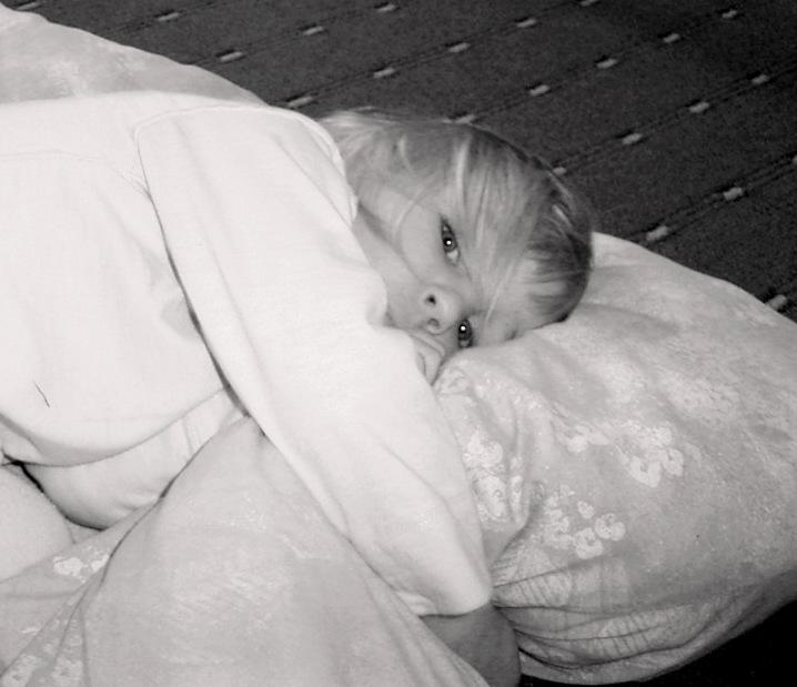 Ich will jetzt schlafen...