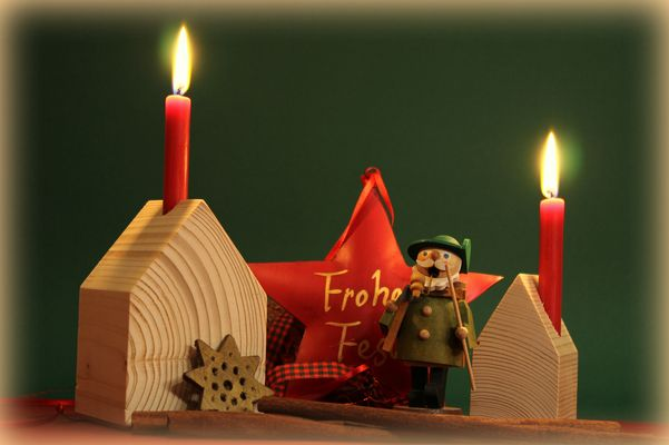 Ich wünsche allen ein wunderschönes Weihnachtsfest!