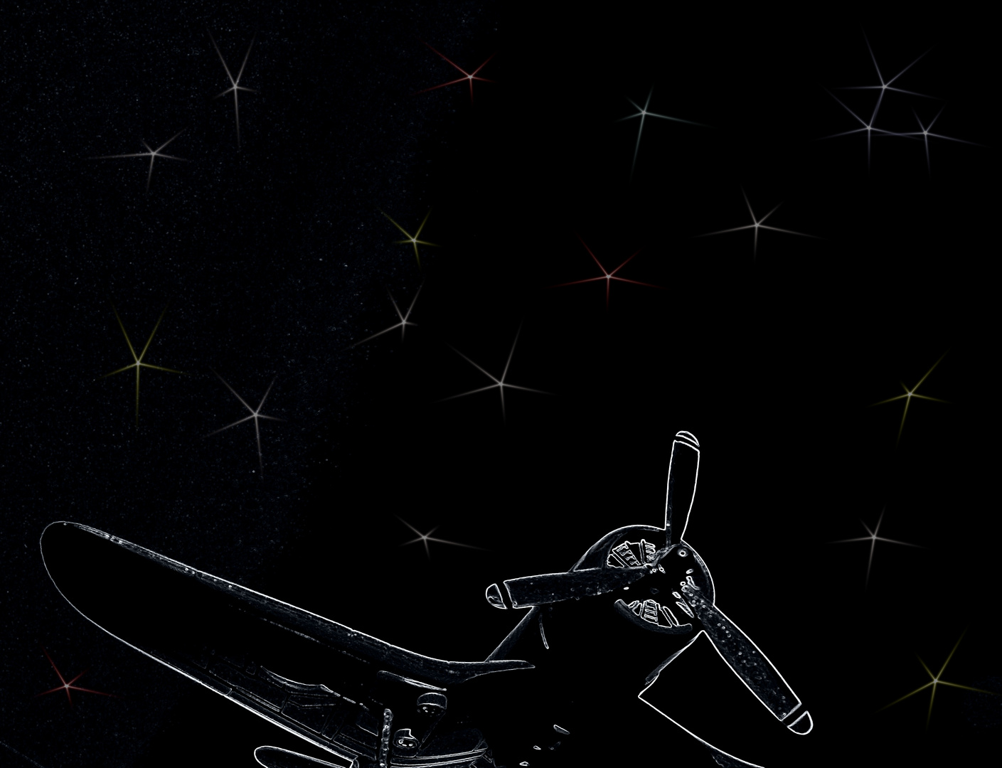 Ich würd so gern mal zu den Sternen fliegen...