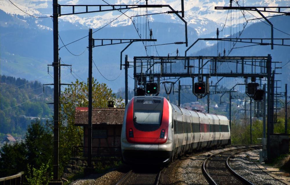 ICN Richtung Alpen