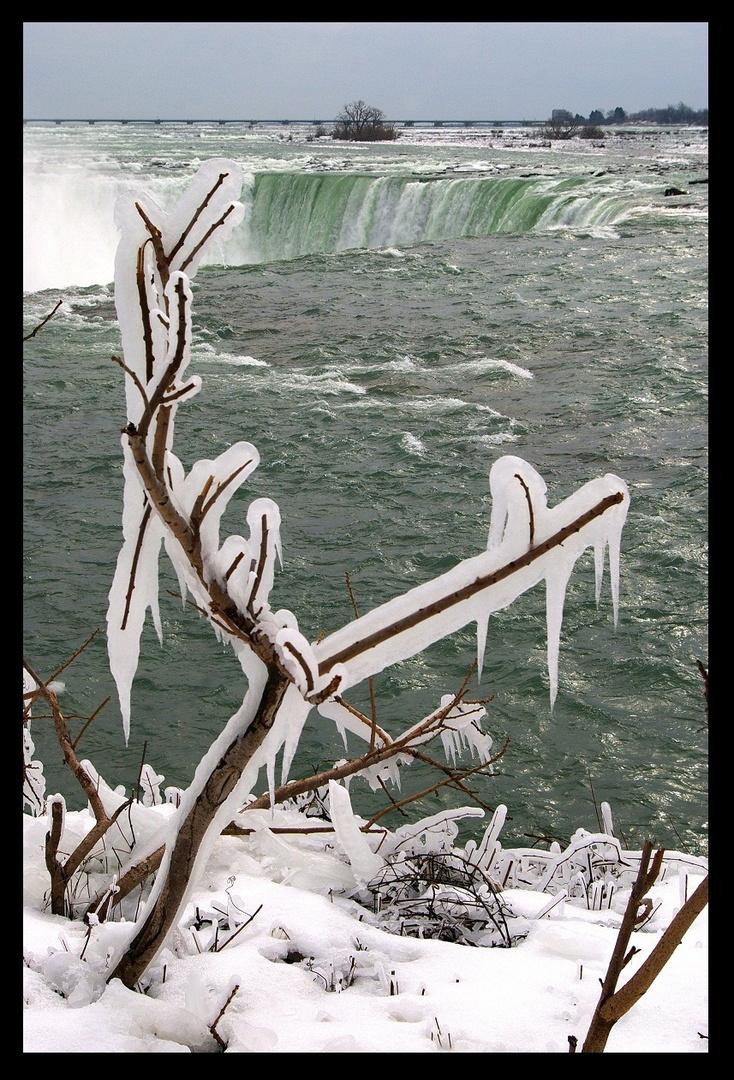 icy Niagara Falls