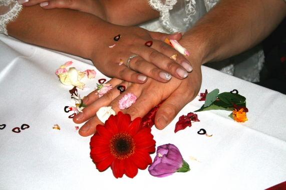 Idee auf der Hochzeit von Freunden