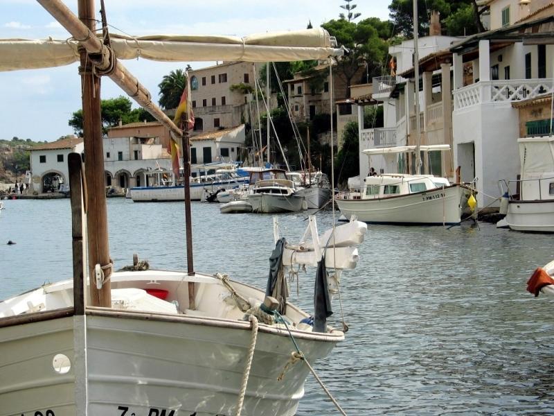 Idylischer Hafen von Cala Figuera
