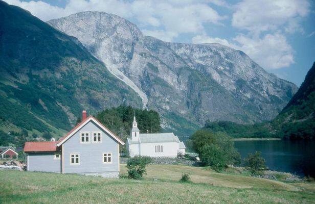 Idyll am Fjord