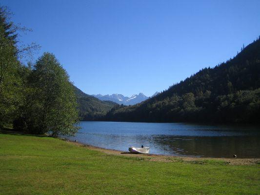 Idylle am Hicks Lake