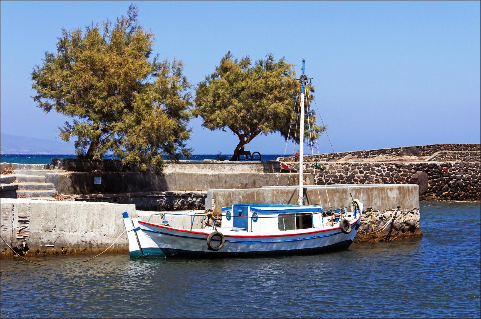 Idylle am kleinen Hafen von Porì