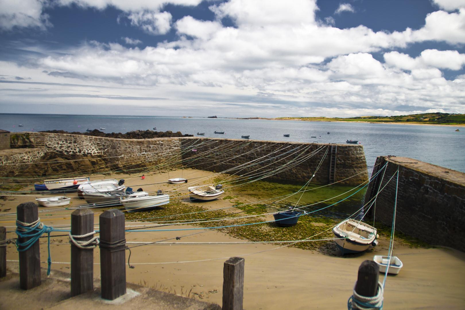 Idylle am Port Racin/ Normandie