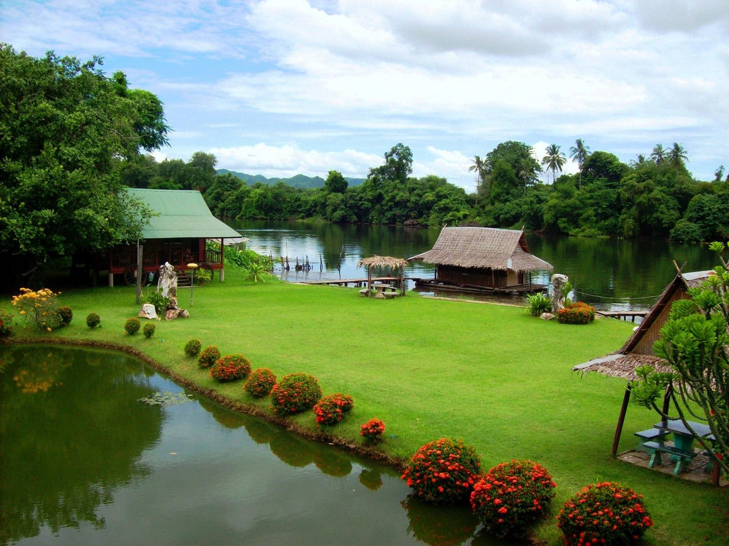 Idylle am River Kwai