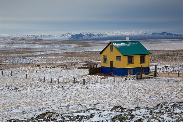 Idylle in Island