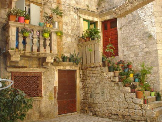 Idylle in Trogir