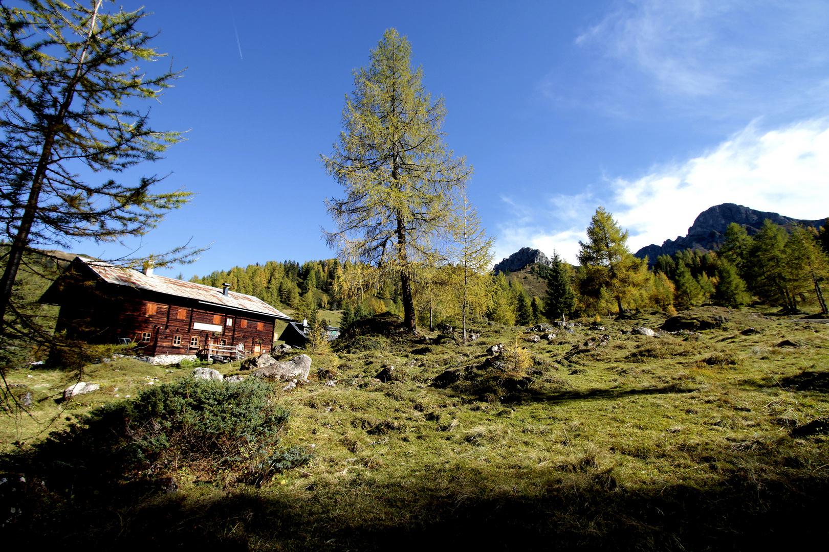 Idyllische Alpen