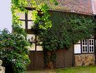 Idyllische Hofansicht in Goslar/Harz