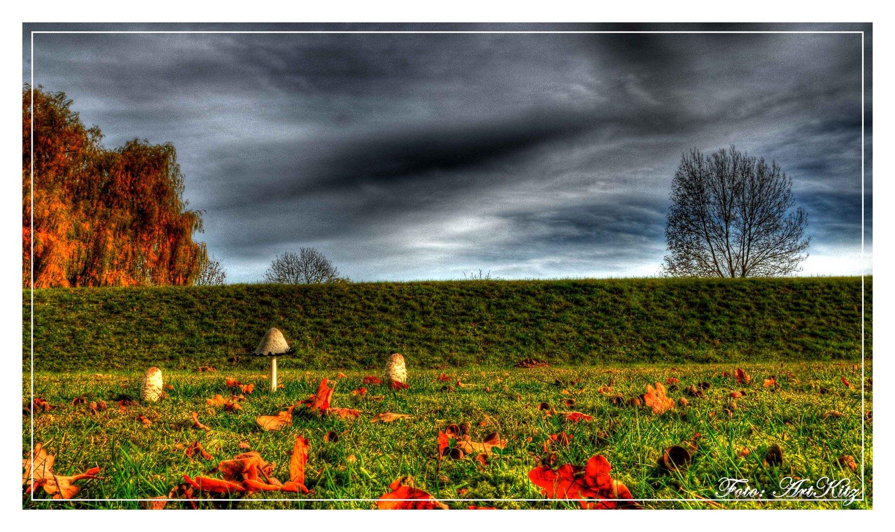 Idyllischer Herbst