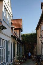 idyllischer Hinterhof....