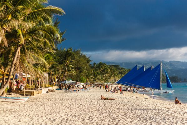 if there is paradise on earth is an island of Boracay