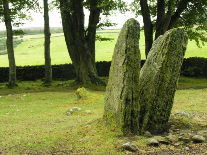 If these stones could speak ......