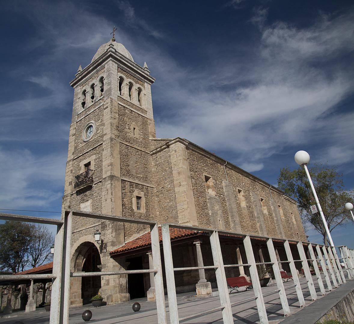 iglesia de luanco