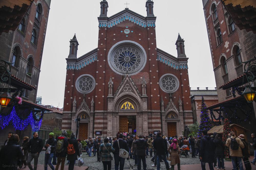 Iglesia de San Antonio de Padua (Estambul Turquia)