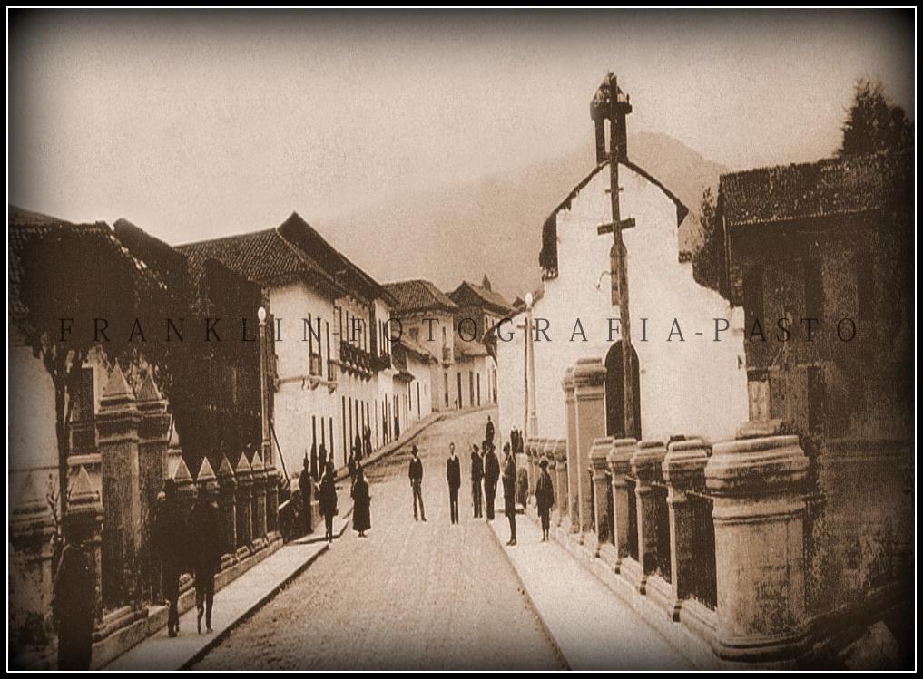 Iglesia de san Sebastian - San Juan de Pasto (años 20te)