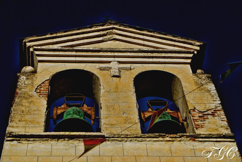 Iglesia de Villar del Olmo ( campanario)