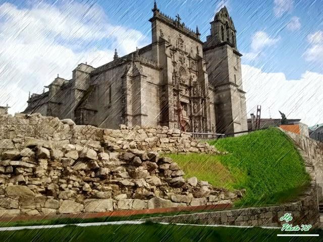 Iglesia Santa María -Pontevedra