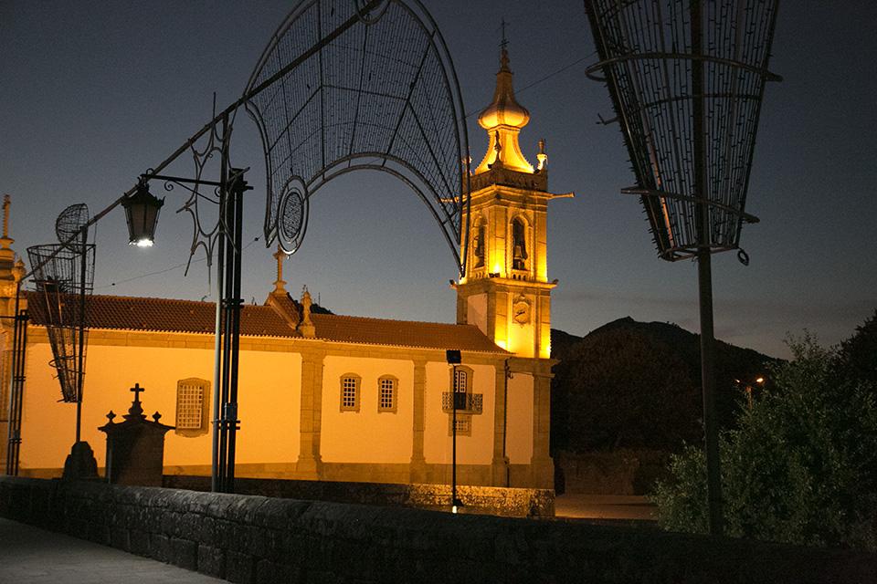 Igreja à noite_Ponte de Lima_Portugal