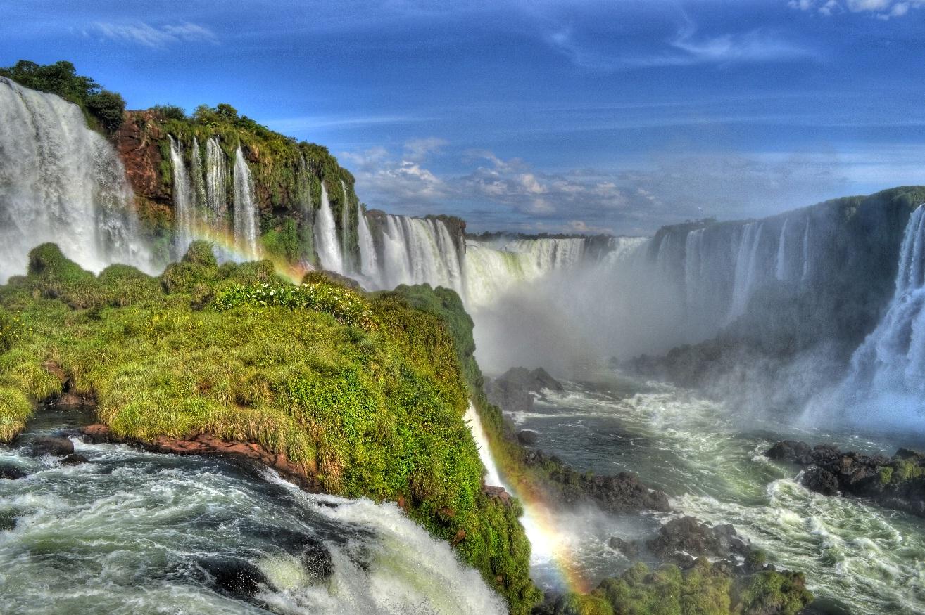 Iguazu!... vista desde Brasil!.