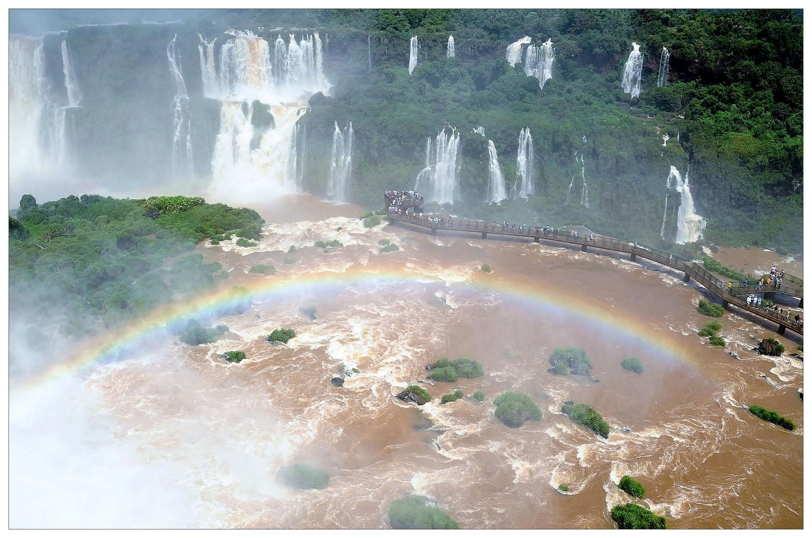 Iguazu - von der brasilianischen Seite