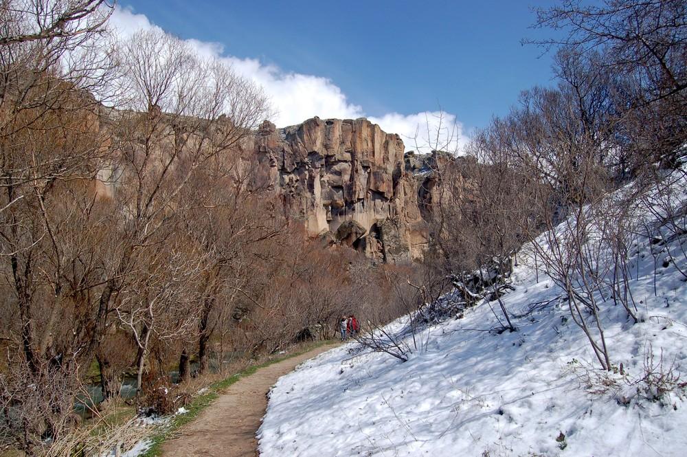 Ihlara-Tal im Schnee