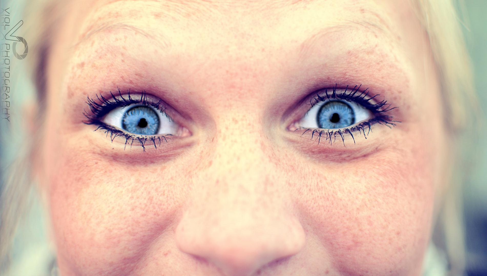 Ihre Augen verzaubern mich immer wieder