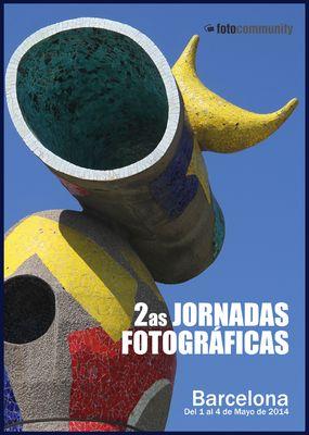 IIªs JORNADAS FOTOGRAFICAS - FOTOCOMMUNITY -BARCELONA 2014-