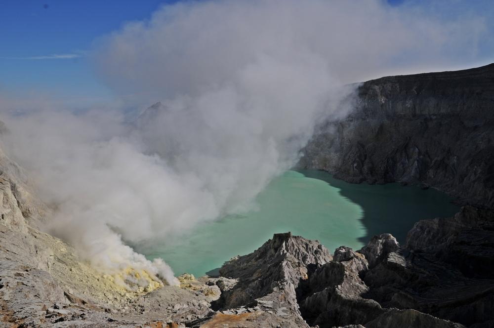 Ijen Vulkan / Indonesien