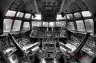 IL 62 flugzeug cockpit
